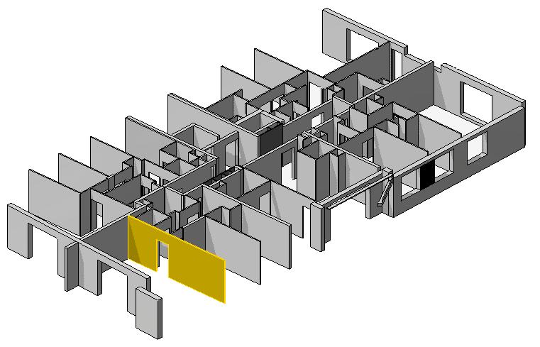 Maquette numérique BIM en études de prix bâtiment 3